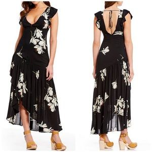 Free People Dresses - Free People Waterfall Maxi Dress